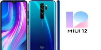 Redmi Note 8 Pro Download MIUI 12 Beta Update File