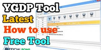 How to flash CPB firmware using YGDP Tool