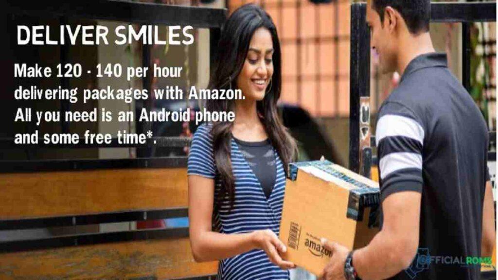 Amazon Flex Given Part Time Job/ Full Time Amazon Flex Pays Make ₹120 - ₹140 an hour