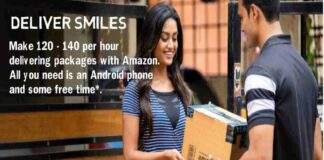 Amazon Flex Given Part Time Job/ Full Time Amazon Flex Pays Make ₹120 - ₹140 an hour