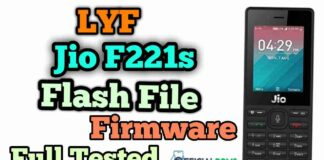 Download Lyf Jio F221s Flash File Tested