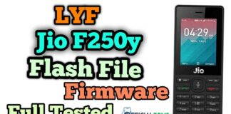 Download Lyf Jio F250y Flash File Tested 2020 (Hang On Logo)