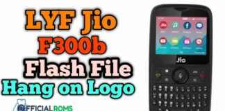 Download Lyf Jio F300b Flash File Tested 2020 (Hang On Logo)