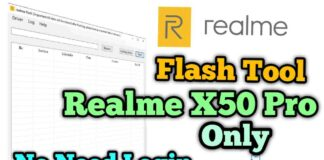 Realme X50 Pro Flash Tool Offline No Need Login & ISP Pinout