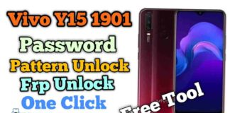 Vivo Y15 1901 Pattern Password Frp Unlock One Click Without Dongle