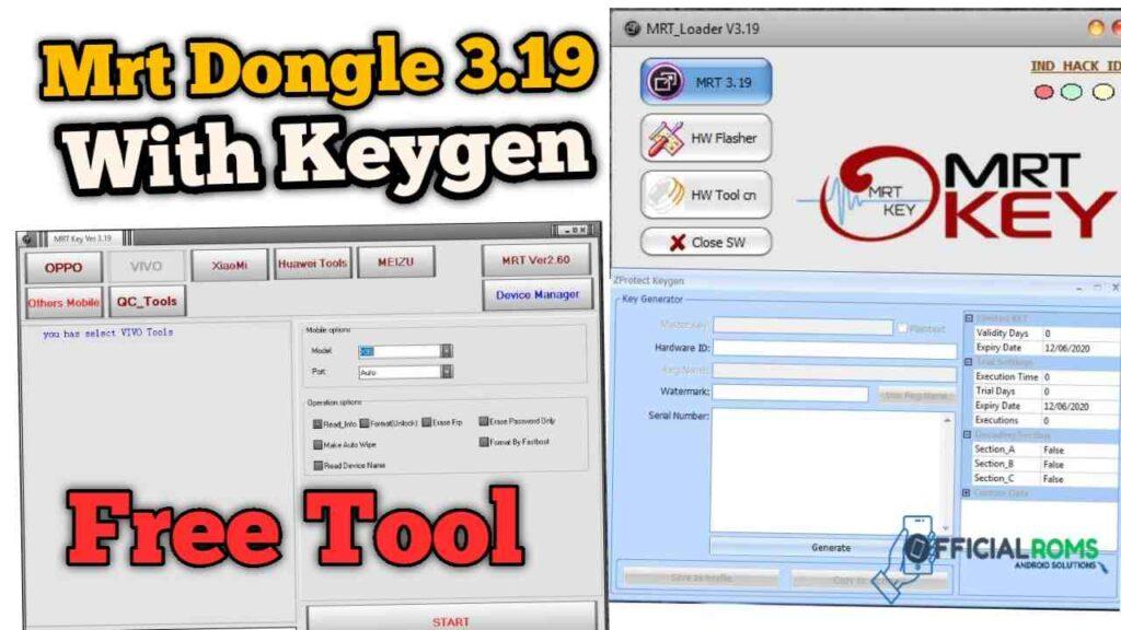 MRT Dongle V3.19 Setup With Keygen Working All Window 100%
