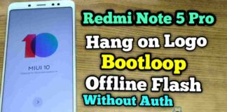 How To Fixed Redmi note 5 Pro Bootloop & Hang On Logo
