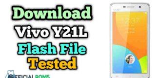 Download Vivo Y21L Flash File (Firmware ROM)