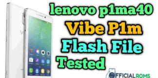 Lenovo Vibe p1ma40 flash file tested (Stock ROM)