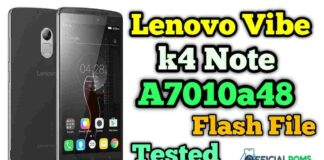lenovo a7010a48 flash file K4 Note Firmware ROM