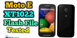 moto E xt1022 flash file With Flash Tool Full Tested Version