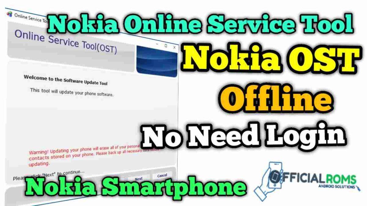 Nokia OST 6.2.8 offline (No Need Login) Nokia Online Service Tool