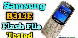 Download Samsung B313e Flash File Tested Flash Tool