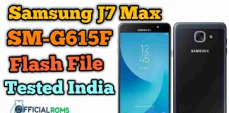 samsung j7 max SM-G615F Flash File Tested