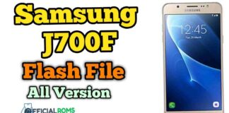 samsung j700f flash file Tested File (Stock ROM)