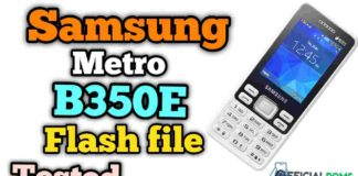 Samsung Metro B350E Flash File Tested 2020