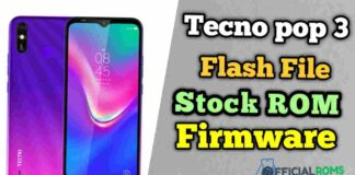 Tecno Pop 3 Flash File