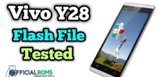Vivo y28 flash file Tested (Firmware ROM)