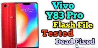 Vivo y83 Pro PD1803F Flash File (Firmware File)
