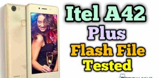 itel a42 plus flash file Tested Working 100% 2020