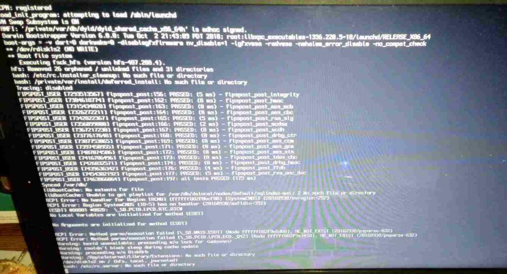 Black Screen ISO