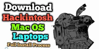 Download & Install Hackintosh Mac OS Using Window Laptops