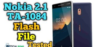 Nokia 2.1 TA-1084 Flash File Stock ROM
