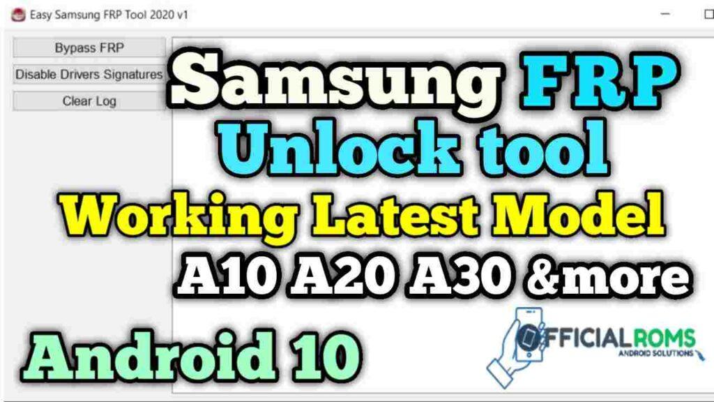 Best Samsung Frp Unlock Tool 2020 | Latest Samsung Mobile