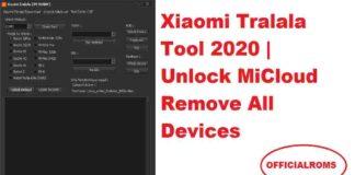 Xiaomi Tralala Tool 2020 | Unlock MiCloud Remove All Devices