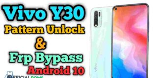 Vivo Y30 Pattern Unlock Without Dongle