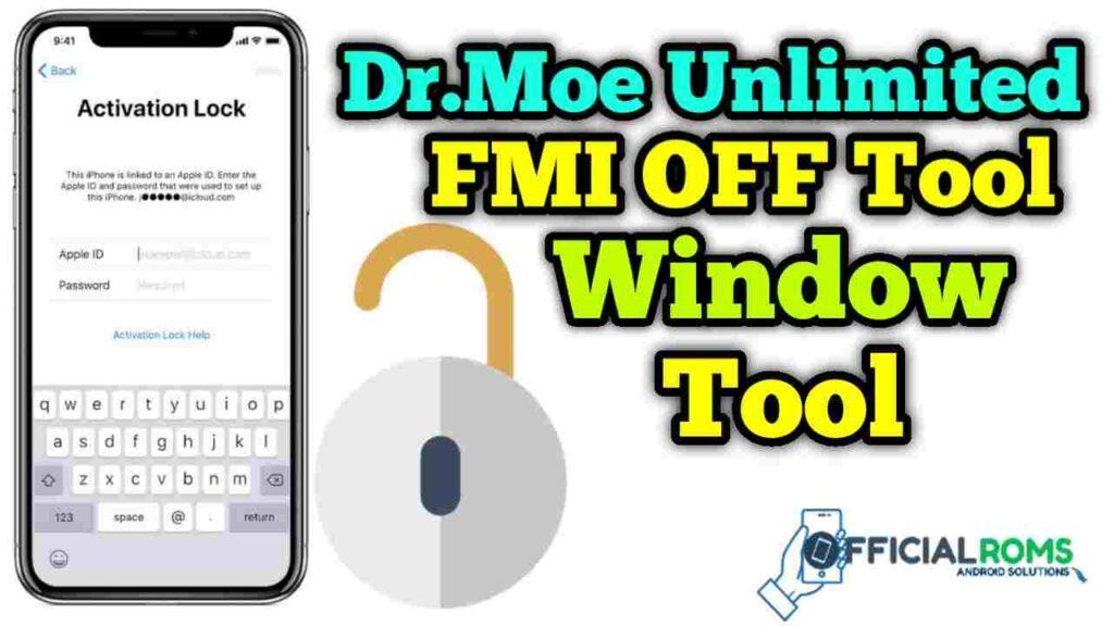 Dr.Moe Unlimited FMI OFF Tool Free Download Window Tool