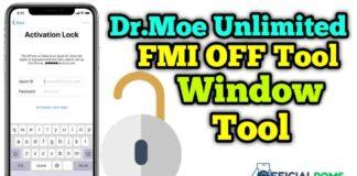Dr.Moe Unlimited FMI off Tool