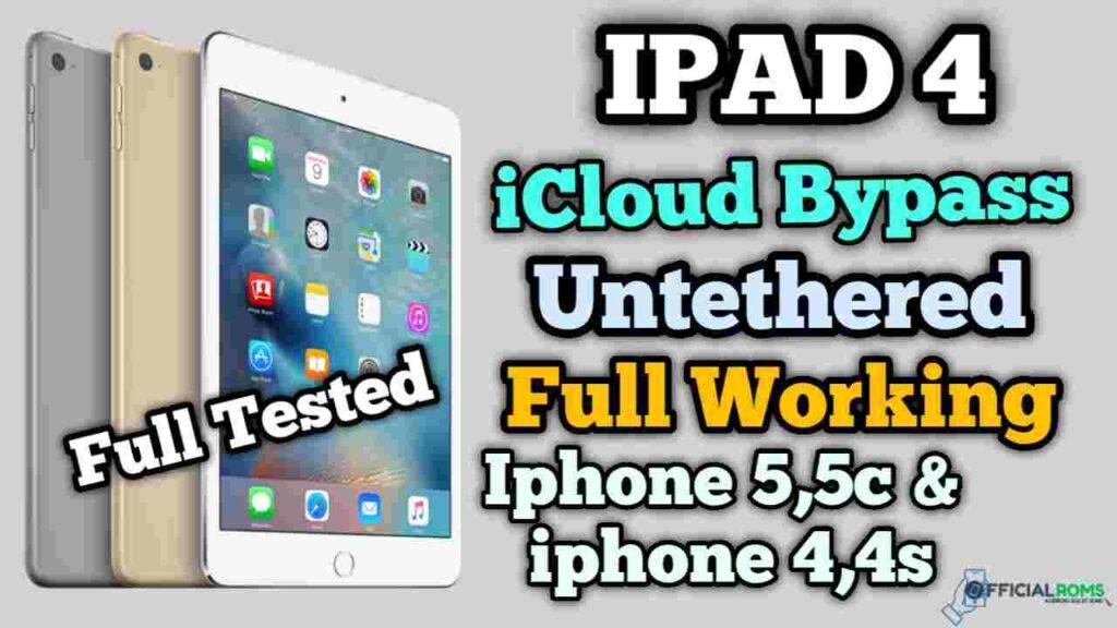 iPad 4 Free icloud bypass Mac OS Software Sliver 4
