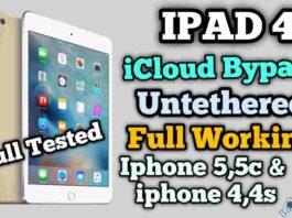 Ipad 4 Icloud Bypass