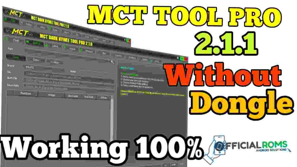 MCT Tool 2.1.1 latest Without Dongle Working 100% 2020