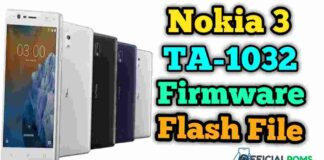 Nokia 3 Flash File