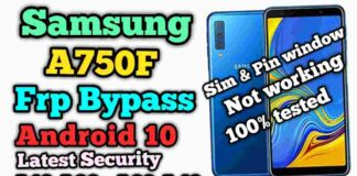 Sasmsung A750F Frp Bypass Android 10 Latest Security | Patch July 2020 |A10,A20,A30,A40,A50s Simple
