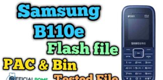 Samsung b110e flash file 100% Tested File (Stock ROM)