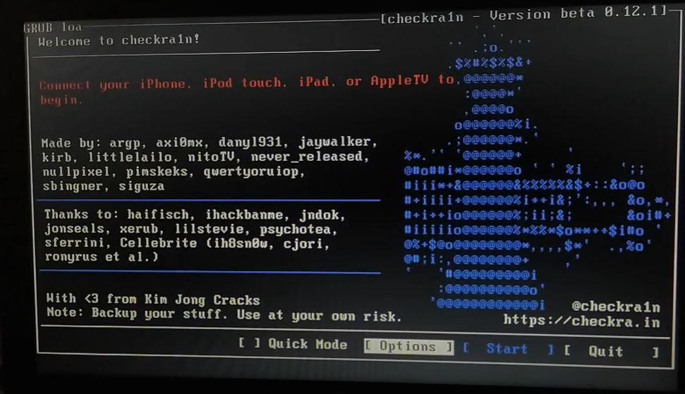 checkn1x Linux ISO 1.1.4 Latest Version JailBreak IOS 14.3 Download