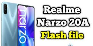Realme Narzo 20A RMX2050 Flash File