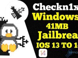 checkn1x Linux ISO 1.1.5 Latest Version JailBreak IOS 14.3
