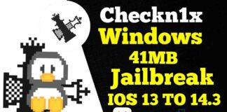 checkn1x Linux ISO 1.1.5 Latest Version JailBreak IOS 14.3