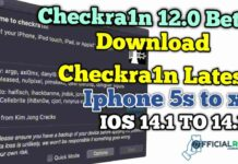 Download Latest Checkra1n 0.12.2 Beta | iphone 5s to X IOS 12 to 14.1