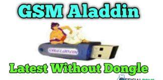 Gsm Aladdin Latest Setup: v2 1.4.2 Use Without Dongle