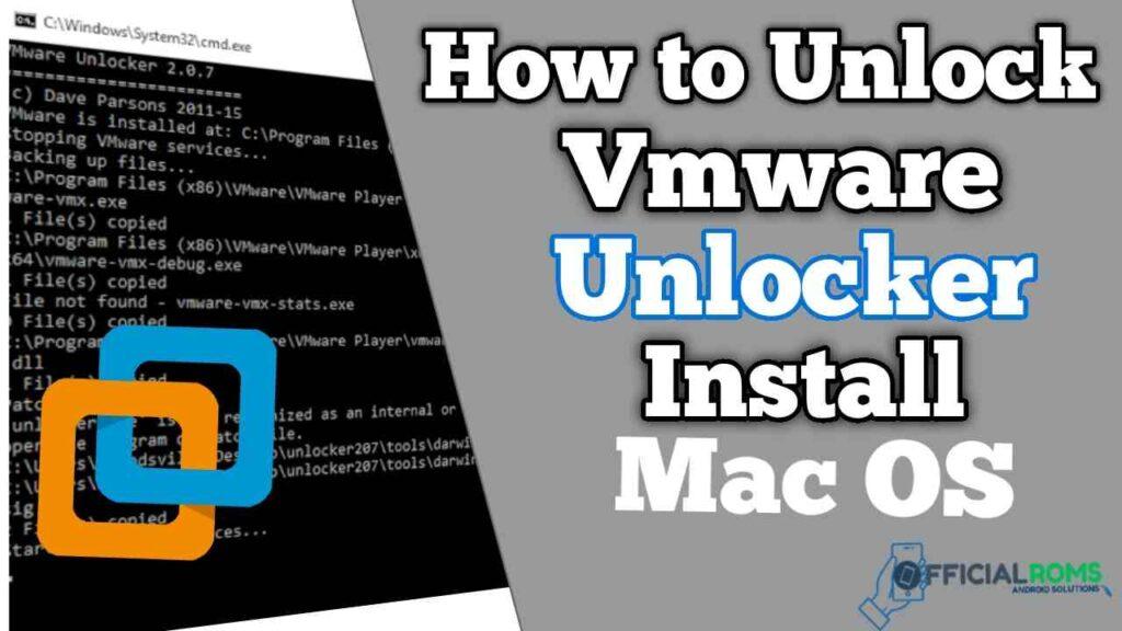 How to Unlock Vmware unlocker & Install Mac OS Big Sur