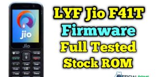 jio f41t flash file Firmware Full tested (Stock ROM)