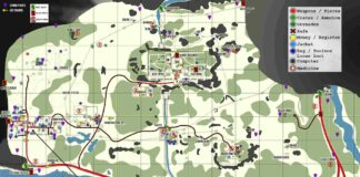 shoreline map tarkov