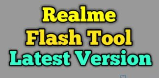 Realme Flash Tool V2.0 [Latest Version] Free Download