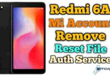 Redmi 6A Mi Account Remove | Flashing Without Auth 2021
