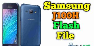 Samsung J100H Flash File